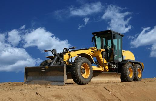 Construction Vehicle「Road Grader」:スマホ壁紙(16)