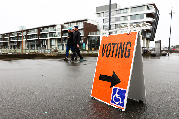 Delayed Sign「New Zealanders Head To The Polls To Vote In 2020 General Election」:写真・画像(14)[壁紙.com]