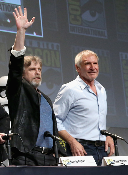 Star Wars Series「Star Wars: The Force Awakens Panel At San Diego Comic Con - Comic-Con International 2015」:写真・画像(4)[壁紙.com]