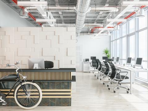 Pattern「Modern office reception area」:スマホ壁紙(9)