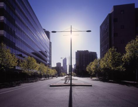 Melbourne Docklands「Modern office and apartment buildings in Melbourne」:スマホ壁紙(9)