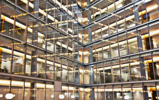 Corporate Business「Modern office building exterior」:スマホ壁紙(4)