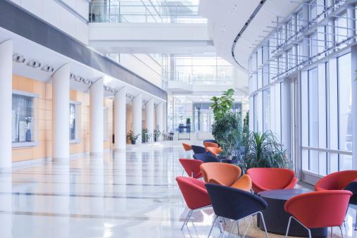 Postmodern「Modern Office Lobby」:スマホ壁紙(17)