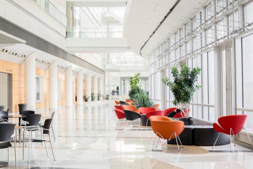 Clean「Modern Office Lobby」:スマホ壁紙(6)