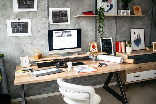 Corporate Business「Modern office interior」:スマホ壁紙(14)