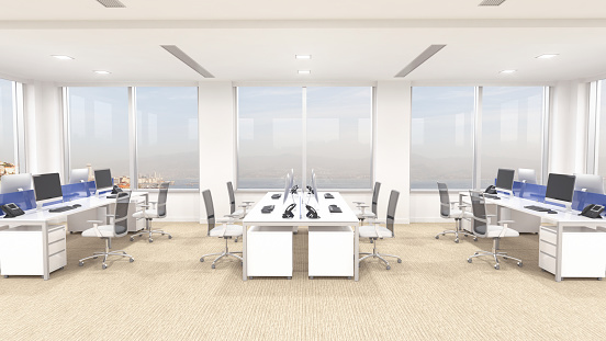Business「Modern Office Interior」:スマホ壁紙(6)