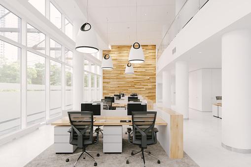 New Business「Modern Office Interior」:スマホ壁紙(0)