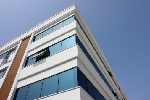 Extreme Close-Up「Modern office building」:スマホ壁紙(7)