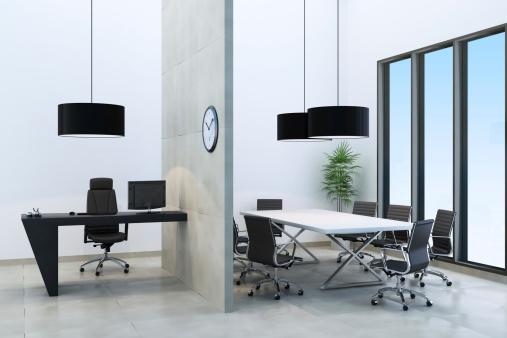 宇宙「近代的なオフィス」:スマホ壁紙(11)