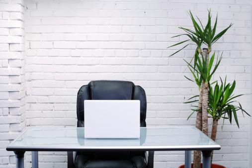 Brick Wall「Modern office interior set-up」:スマホ壁紙(16)