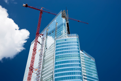 Development「Modern Office Building in Construction, Paris, France」:スマホ壁紙(8)