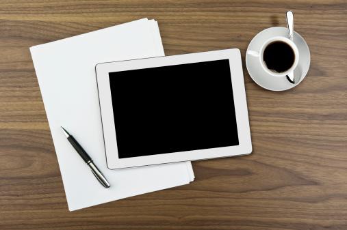 Coffee Break「Modern office working」:スマホ壁紙(18)