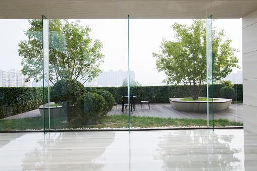 Beijing「Modern office building hallway」:スマホ壁紙(15)