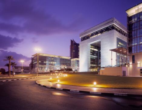 Banking「Modern office buildings at Dubai Financial Centre」:スマホ壁紙(19)