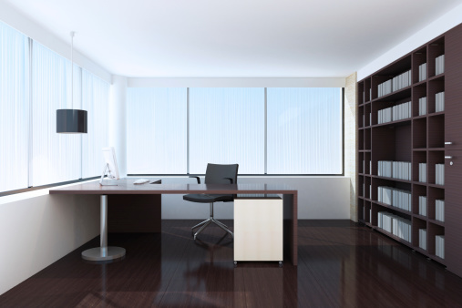 Home Office「Modern Office」:スマホ壁紙(3)