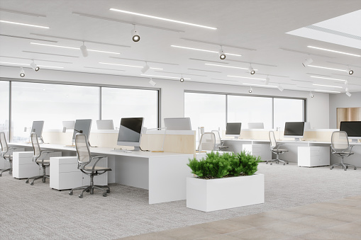Business「Modern Office Space」:スマホ壁紙(9)