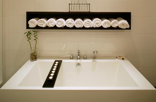 Feng Shui「modern luxury bathroom bathtub white」:スマホ壁紙(0)