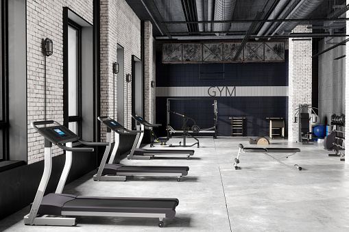 Bench「Modern Luxury GYM Interior」:スマホ壁紙(4)