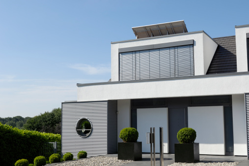 Concrete「Modern luxury one family house」:スマホ壁紙(0)