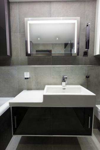 Tile「Modern luxury bathroom」:スマホ壁紙(18)