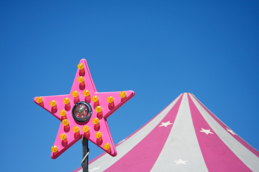 Entertainment Tent「Amusement park star and roof」:スマホ壁紙(12)