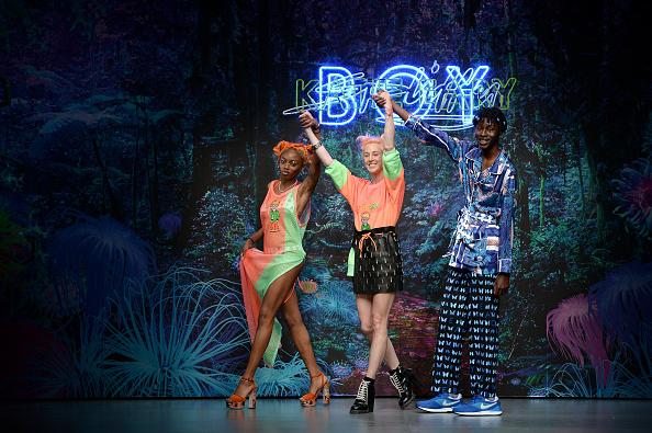 ロンドンファッションウィーク「Katie Eary - Runway - LFWM June 2017」:写真・画像(17)[壁紙.com]