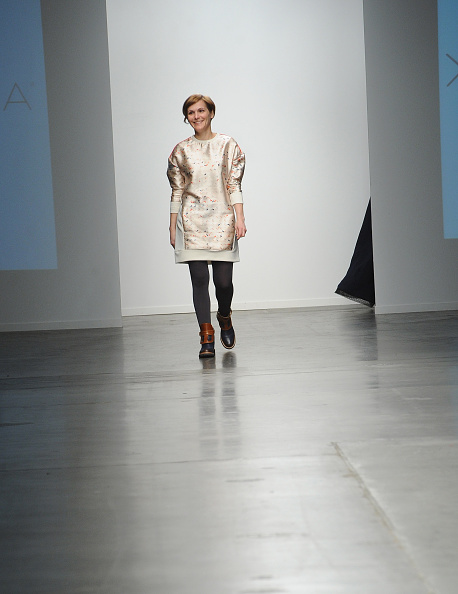 Chelsea Piers「Katty Xiomara - Runway - Mercedes-Benz Fashion Week Fall 2015」:写真・画像(18)[壁紙.com]