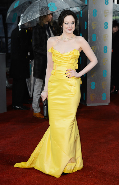Yellow Dress「EE British Academy Film Awards - Red Carpet Arrivals」:写真・画像(10)[壁紙.com]