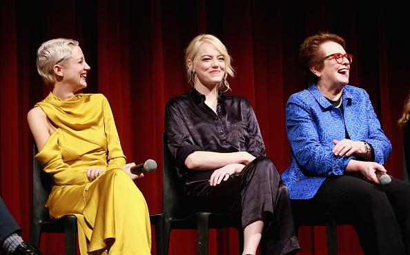 エマ・ストーン「The Academy of Motion Picture Arts & Sciences Hosts an Official Academy Screening of THE BATTLE OF THE SEXES」:写真・画像(1)[壁紙.com]