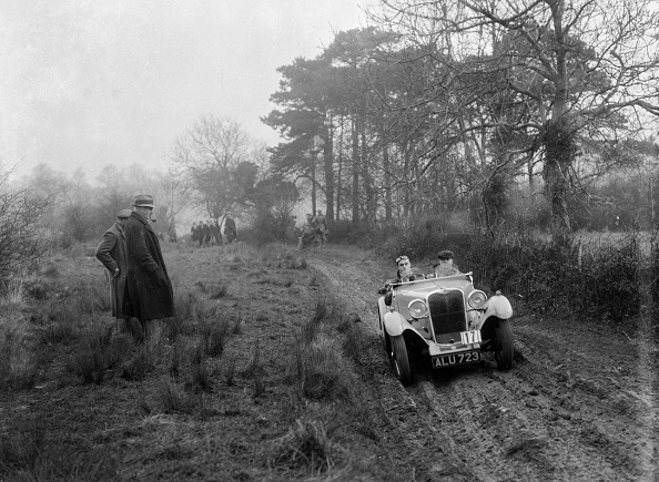 Country Road「Singer of DA Loader at the Sunbac Colmore Trial, Gloucestershire, 1934」:写真・画像(9)[壁紙.com]