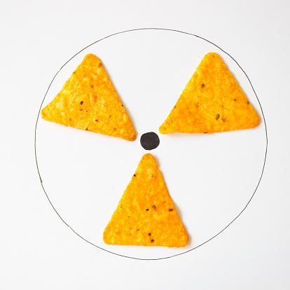 Mixed Media「Conceptual radiation symbol」:スマホ壁紙(13)