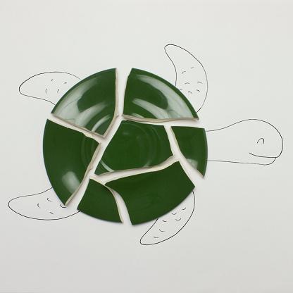 Imagination「Conceptual turtle」:スマホ壁紙(8)
