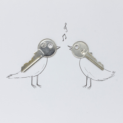Imagination「Conceptual singing birds」:スマホ壁紙(5)