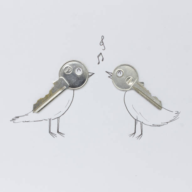 Conceptual singing birds:スマホ壁紙(壁紙.com)
