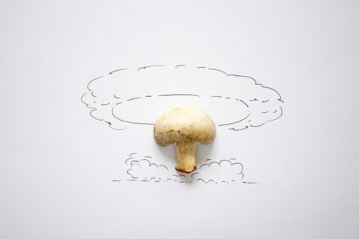 Mixed Media「Conceptual atomic bomb exploding」:スマホ壁紙(9)