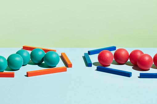 Equality「Conceptual image of geometric blocks」:スマホ壁紙(4)