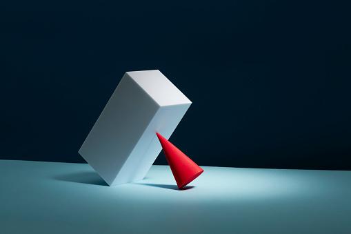 Equality「Conceptual image of geometric blocks」:スマホ壁紙(18)