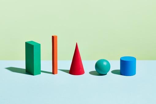 Choice「Conceptual image of geometric blocks」:スマホ壁紙(11)