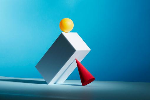 Equality「Conceptual image of geometric blocks」:スマホ壁紙(0)