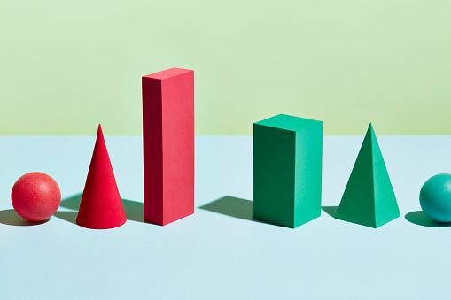 Pyramid Shape「Conceptual image of geometric blocks」:スマホ壁紙(12)