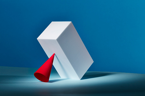 Rivalry「Conceptual image of geometric blocks」:スマホ壁紙(2)