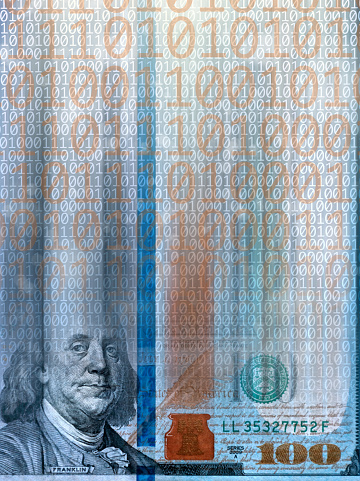 Vertical「conceptual digital money」:スマホ壁紙(2)
