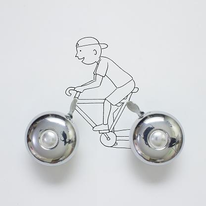 サイクリング「Conceptual boy cycling」:スマホ壁紙(1)