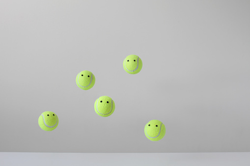 Anthropomorphic Smiley Face「Conceptual group of happy faces」:スマホ壁紙(14)