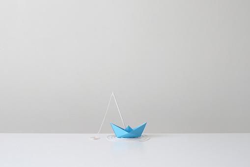 Paper Craft「Conceptual fishing boat」:スマホ壁紙(13)