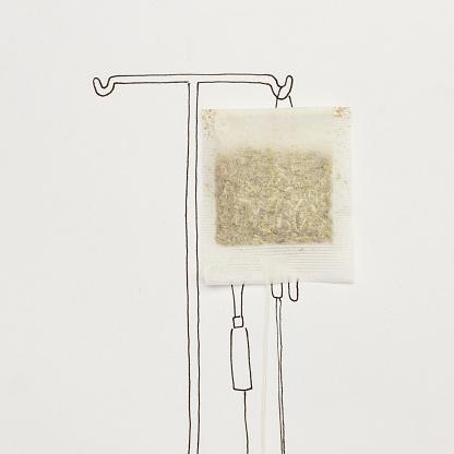 Tea「Conceptual IV transfusion drip」:スマホ壁紙(16)