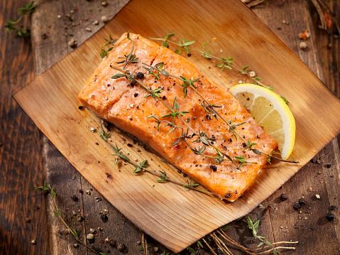 Grilled Salmon「Cedar Wrapped Salmon」:スマホ壁紙(16)