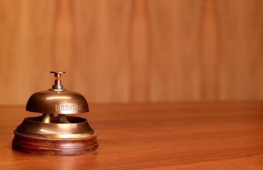 Hotel Reception「Hotel reception service bell」:スマホ壁紙(7)