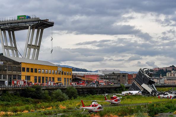Bridge - Built Structure「Morandi Highway Bridge Collapse in Genoa, Italy」:写真・画像(15)[壁紙.com]