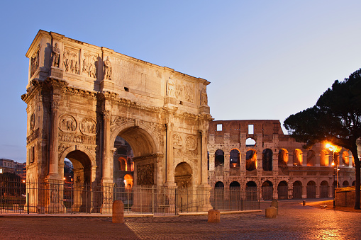 Roman「The Beautiful Monumental Arch of Constantine」:スマホ壁紙(16)